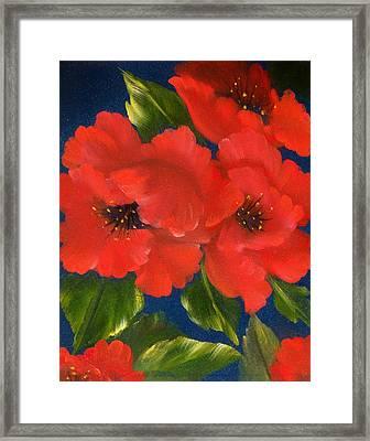 Red Beauty Framed Print by Joni McPherson