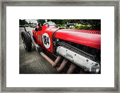Red Bentley Framed Print