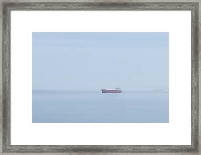 Red Boat 3 Framed Print