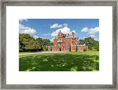 Red Brick Mansion Framed Print by Adrian Evans
