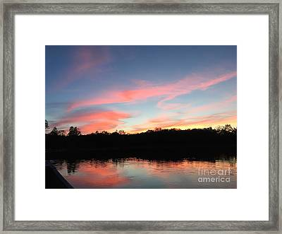 Davin-sky Framed Print by Jason Nicholas