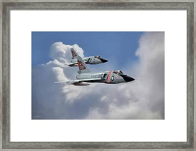 Red Bull Century Series Framed Print by Peter Chilelli