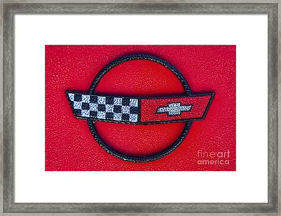 Red C4 Framed Print