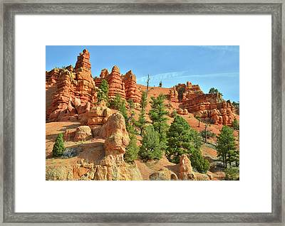 Red Canyon Highway 12 Framed Print