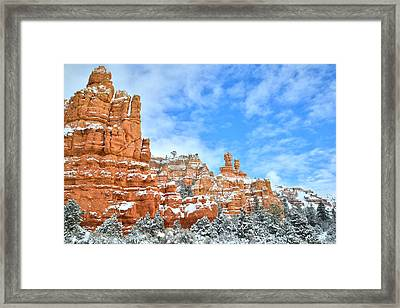 Red Canyon Scenic Byway 12 Framed Print