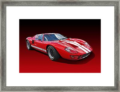 Red Carpet Ford Framed Print