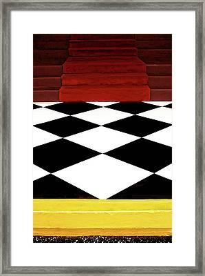 Red Carpet Treatment Framed Print