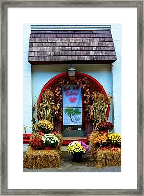 Red Cat Cellars Framed Print