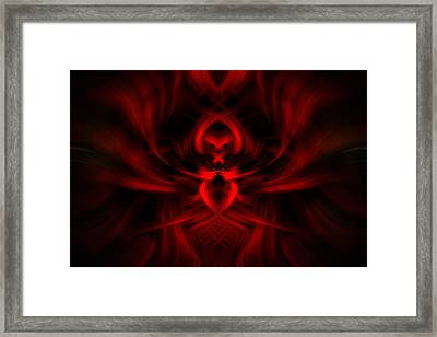RED Framed Print by Cherie Duran