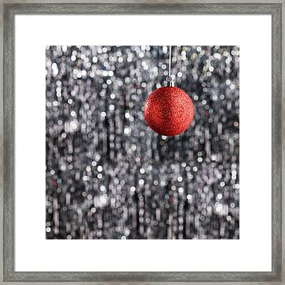 Framed Print featuring the photograph Red Christmas  by Ulrich Schade