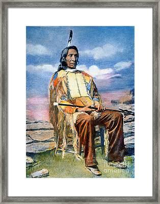 Red Cloud (1822-1909) Framed Print by Granger