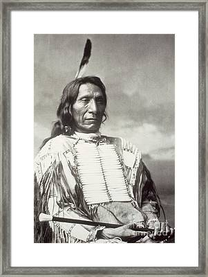 Red Cloud Chief Framed Print