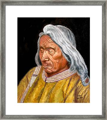 Red Cloud Framed Print by Stan Hamilton