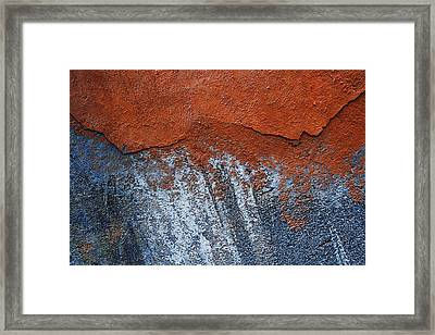 Red Clouds Raining Framed Print by Tommaso Leto