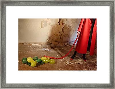 Red Coat #4810 Framed Print