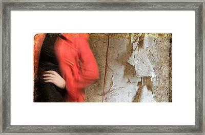 Red Coat #4820 Framed Print