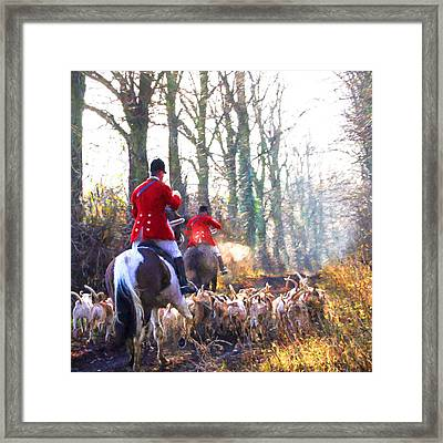 Red Coats. Framed Print by ShabbyChic fine art Photography
