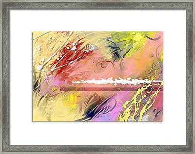 Red Convertable Framed Print by Snake Jagger