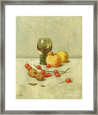 Red Currants Framed Print