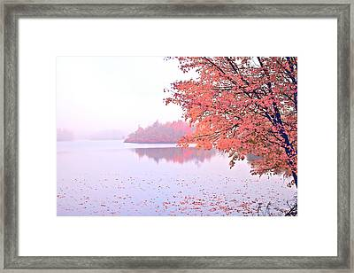 Red Dawn Framed Print