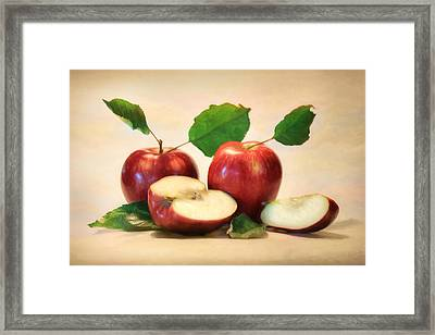 Red Delicious Framed Print by Lori Deiter