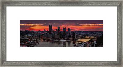 Red Devil  Framed Print