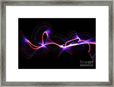 Red Dots Framed Print