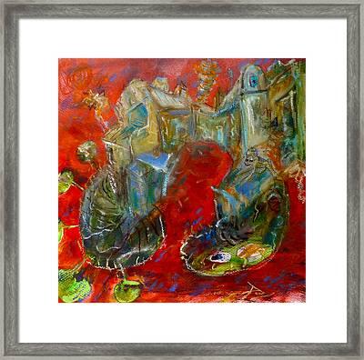 Red Dream Framed Print