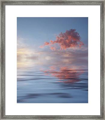 Red Emotion Framed Print by Jerry McElroy