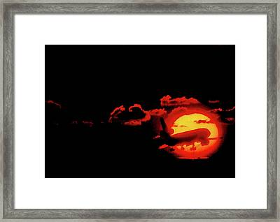 Red Eye Special Framed Print