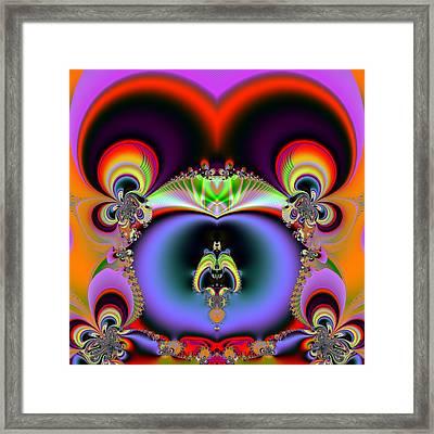 Red Eyes Framed Print by Sfinga Sfinga