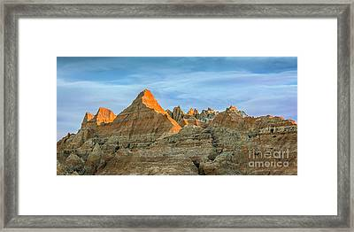 Red Faced Panorama Framed Print