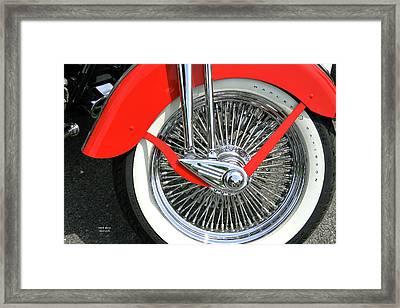 Red Fender Framed Print