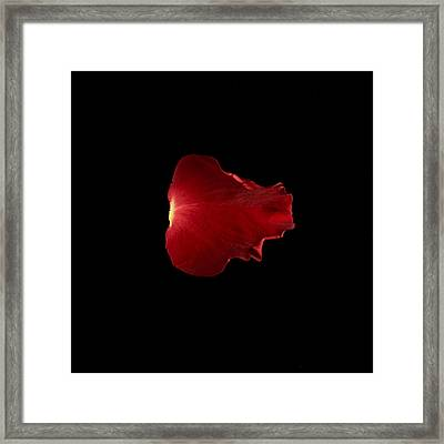 Red Fire Framed Print