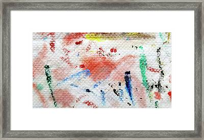 Red Glider Framed Print