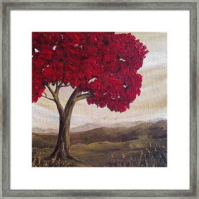 Red Glory Framed Print