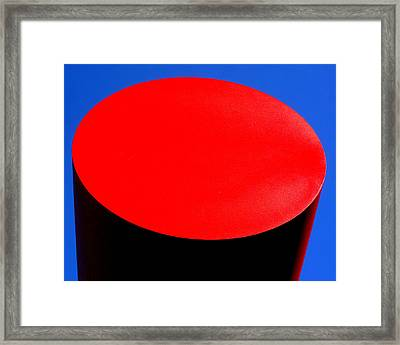 Red Circle 2016 Framed Print