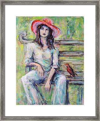 Red Hat Framed Print