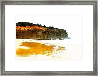 Red Head Beach Framed Print by Susan Vineyard