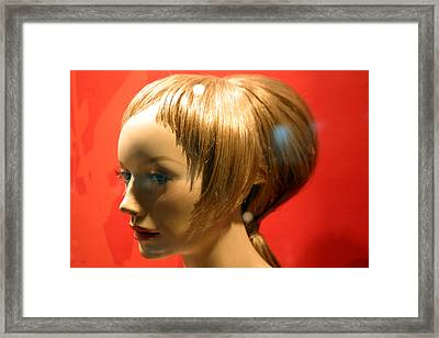 Red Head Framed Print by Jez C Self