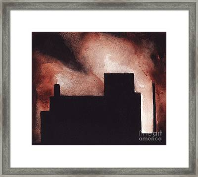 Red Hook Framed Print by Ron Erickson