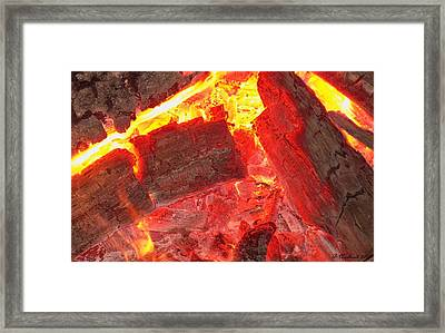 Framed Print featuring the photograph Red Hot by Betty Northcutt