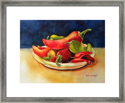 Red Hot Chile Peppers Framed Print