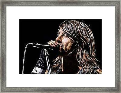 Red Hot Chili Peppers Anthony Kiedis Framed Print