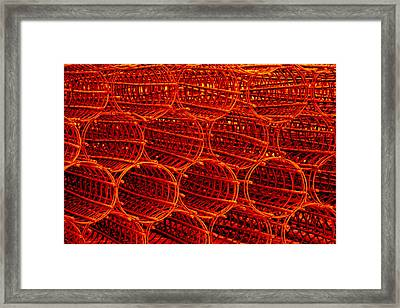 Red Hot Framed Print
