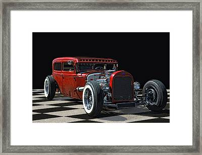Red Hot Rod Framed Print