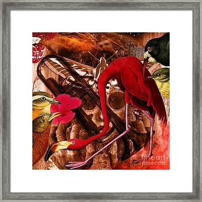 Red Hot Soul Music Framed Print