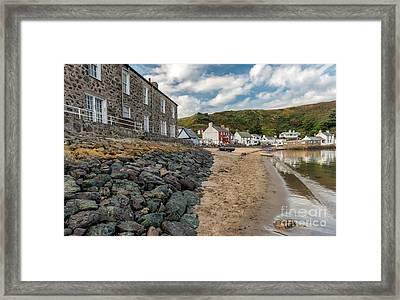 Red House Inn Framed Print