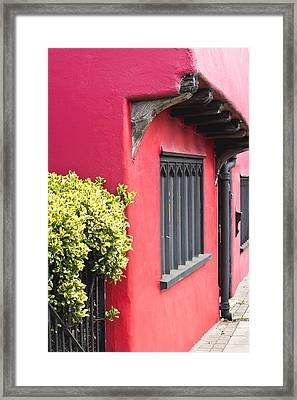Red House Framed Print by Tom Gowanlock