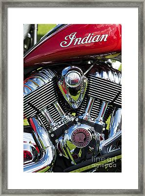 Red Indian Chief Framed Print